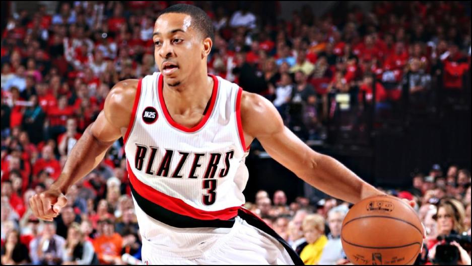 NBA Daily Fantasy Basketball Lineup Picks - Lineuplab.com - CJ McCollum dribbles like no other