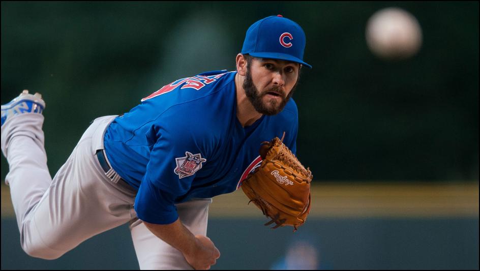 MLB Daily Fantasy Baseball Lineup Stacks -- Jake-Arrieta-DFS-MLB-Lineup-Picks