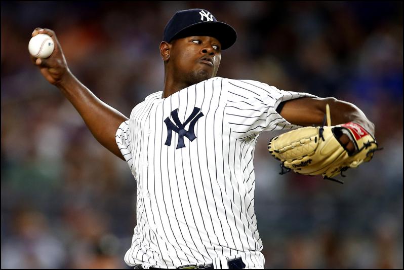 MLB Daily Fantasy Baseball Playoffs - Luis Severino - New York Yankees - Lineuplab.com