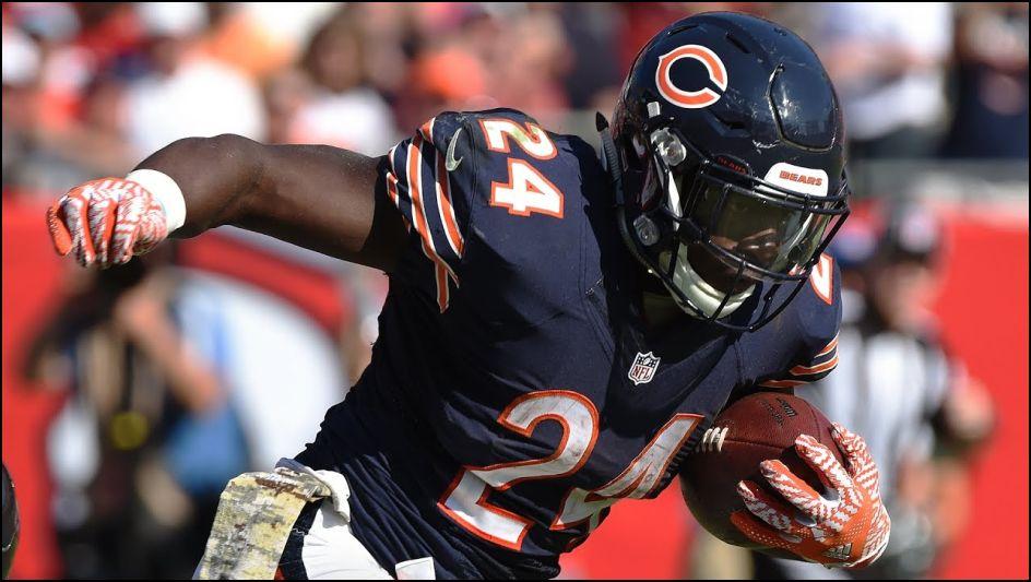 Fantasy Football Season Preview Running Backs 2017 - Jordan Howard - Chicago Bears - Lineuplab