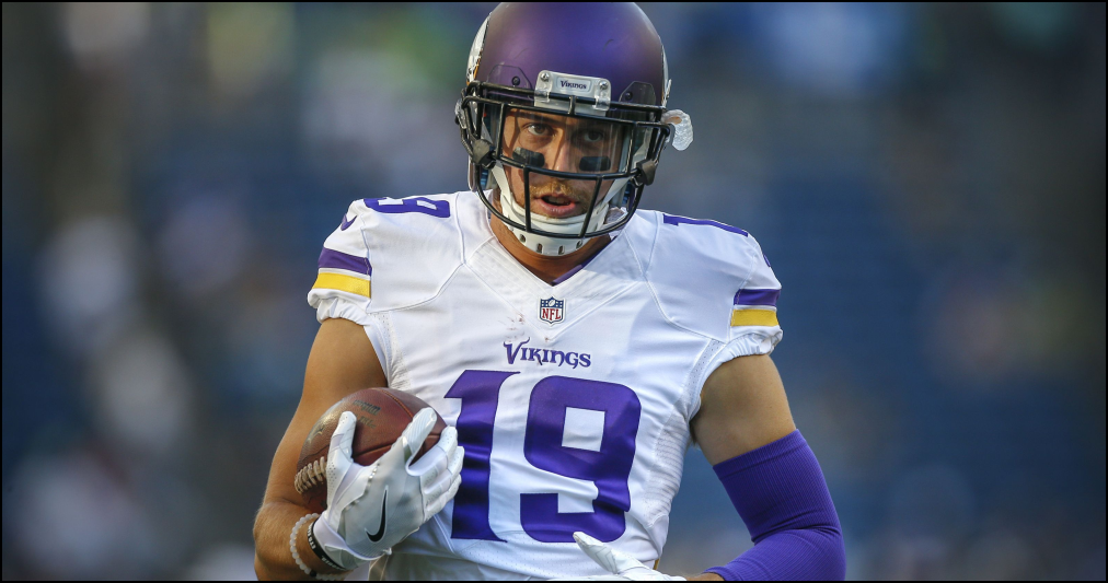 Adam Thielen - Minnesota Vikings - NFL Lineup Daily Fantasy Football - Lineuplab.com