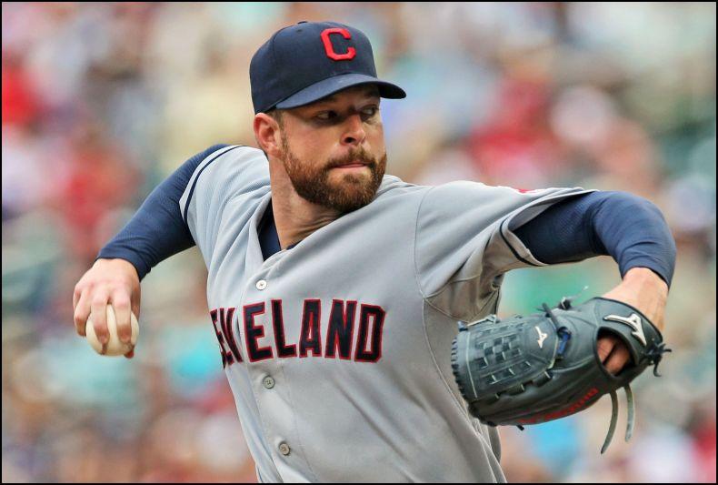 MLB Daily Fantasy Baseball Lineup Stacks - Corey Kluber
