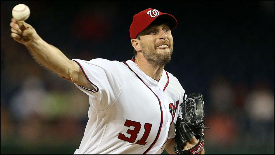 MLB Daily Fantasy Baseball Lineup Stacks - Max Scherzer - Washington Nationals - Lineuplab