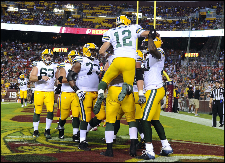 NFL Lineup Daily Fantasy Football - Green Bay Packers - Lineup Lab