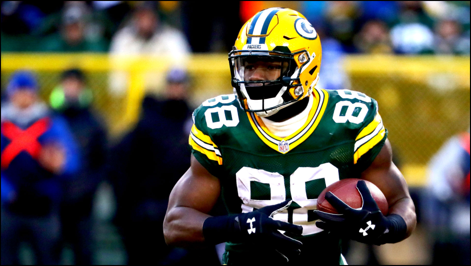 NFL Lineup Daily Fantasy Football - Ty Montgomery - Green Bay Packers - Lineuplab.com