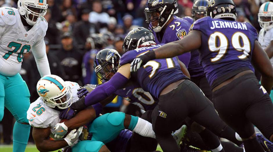 NFL Lineups Daily Fantasy Football - Baltimore Ravens - Lineuplab.com