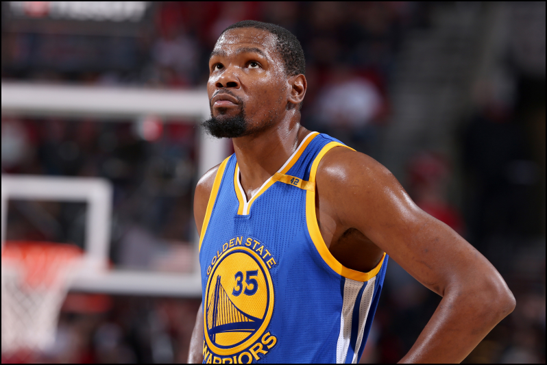 Golden State Warriors - Kevin Durant - Lineuplab.com
