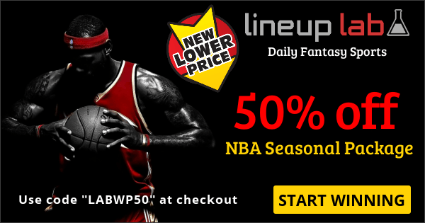 "Use Code ""LABWP50"" at checkout for 50% off Seasonal Package"