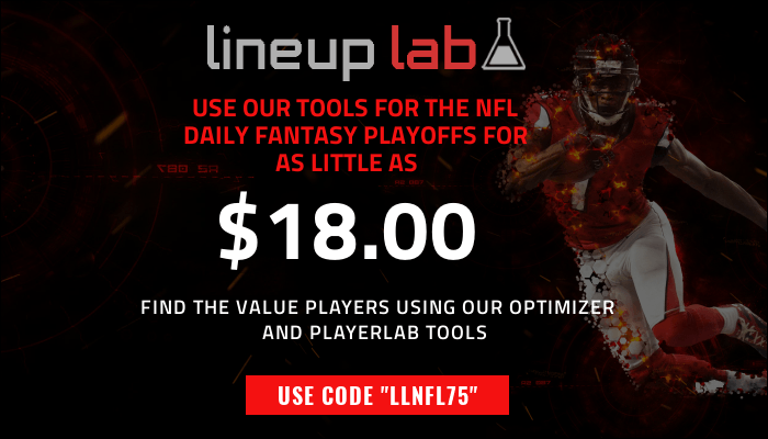 Find the valueable players during the 2018 NFL Wild Card Playoffs for as little as $18!