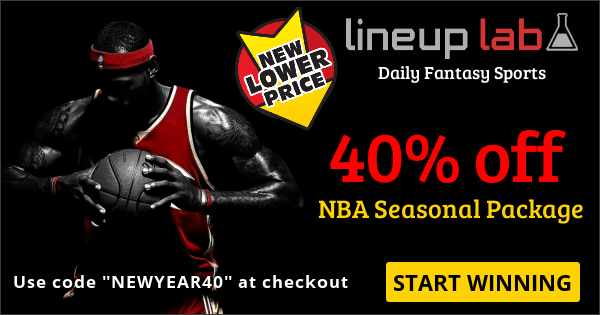 "SALE: 40% off entire NBA Seasonal Package - Coupon Code ""NEWYEAR40"" (including playoffs)"