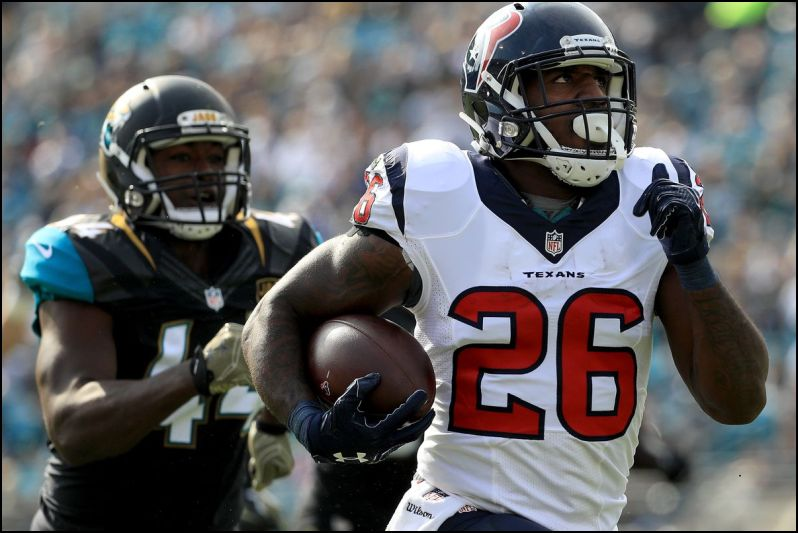 NFL Daily Fantasy Football Recommendations for Week 11 - Running Backs